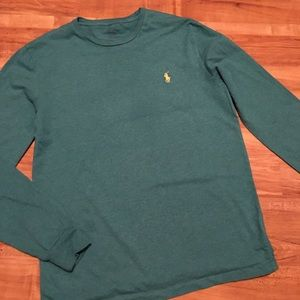 Boys Polo by Ralph Lauren long sleeve tee